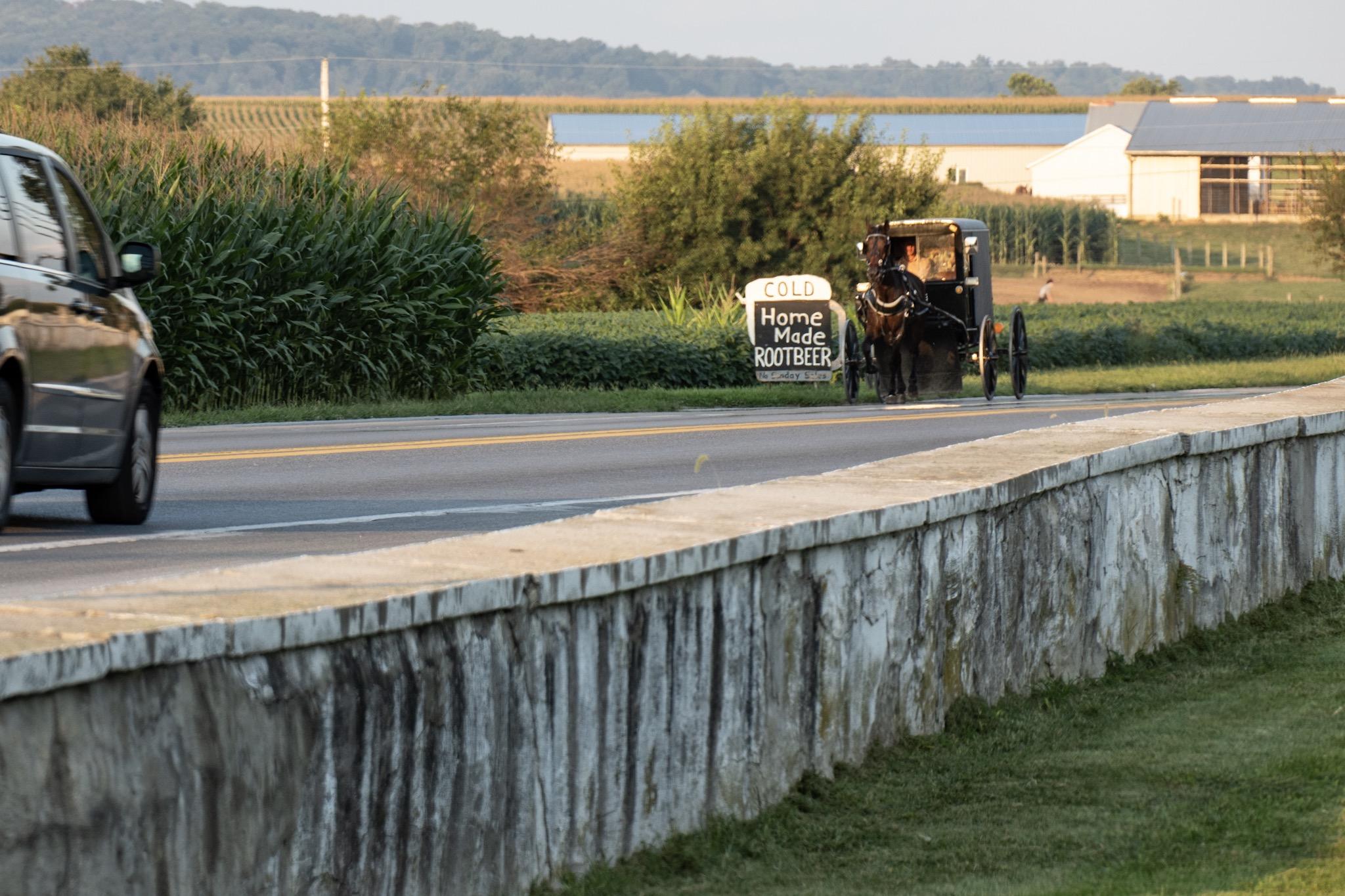 Mit dem Scooter bei den Amish – WeiterWinkel Blog